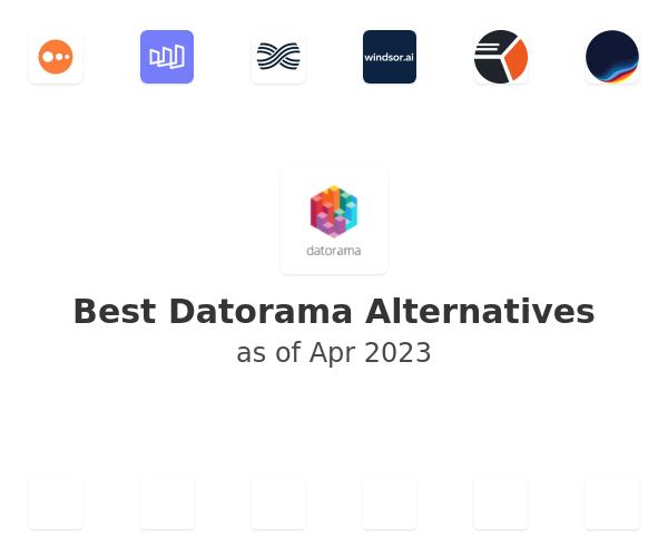 Best Datorama Alternatives
