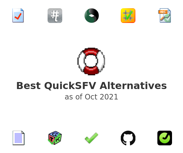 Best QuickSFV Alternatives