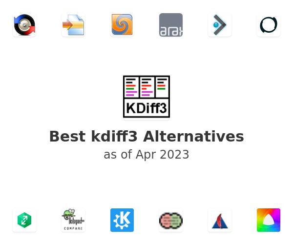Best kdiff3 Alternatives
