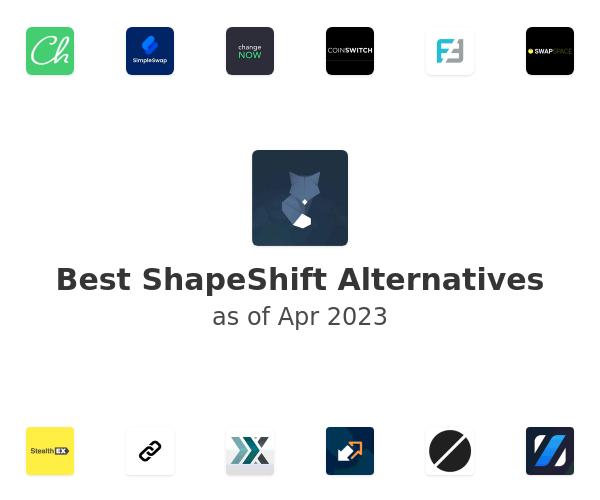 Best ShapeShift Alternatives