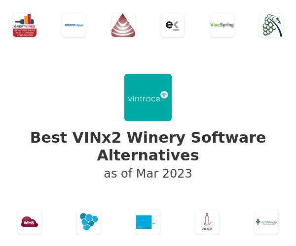 Best VINx2 Winery Software Alternatives