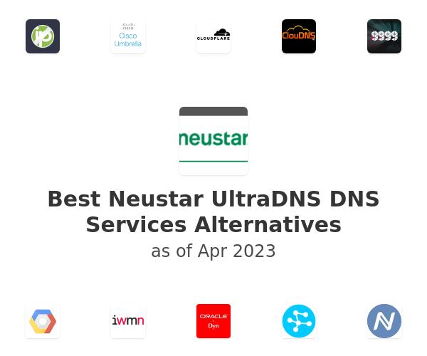 Best Neustar UltraDNS DNS Services Alternatives