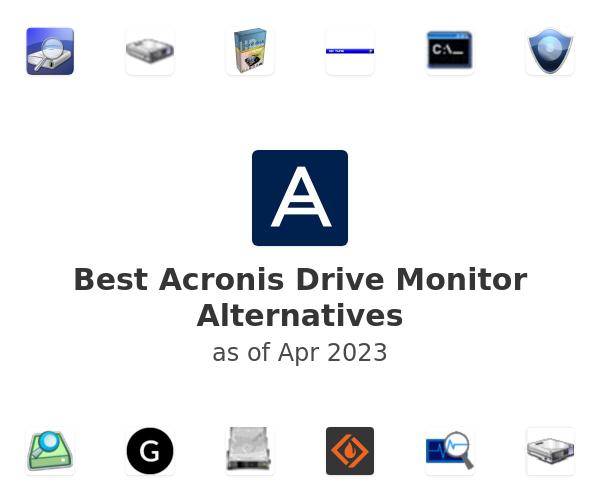 Best Acronis Drive Monitor Alternatives