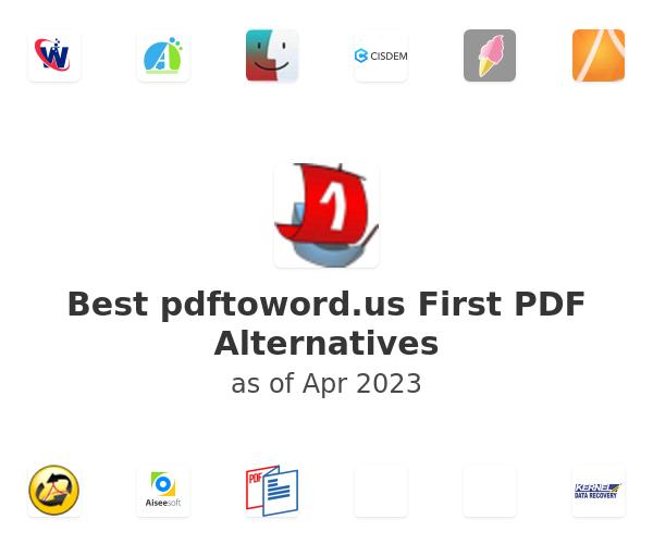 Best First PDF Alternatives