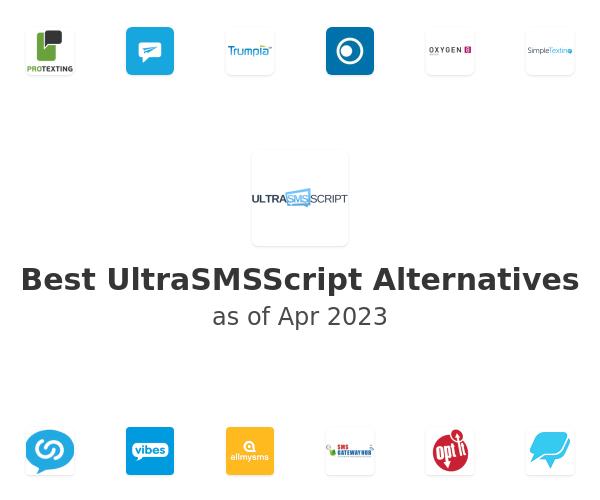 Best UltraSMSScript Alternatives