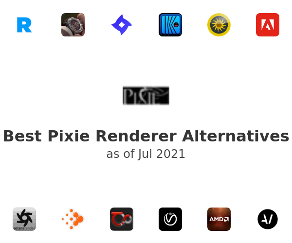 Best Pixie Renderer Alternatives