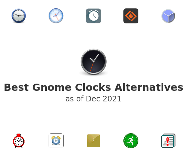 Best Gnome Clocks Alternatives