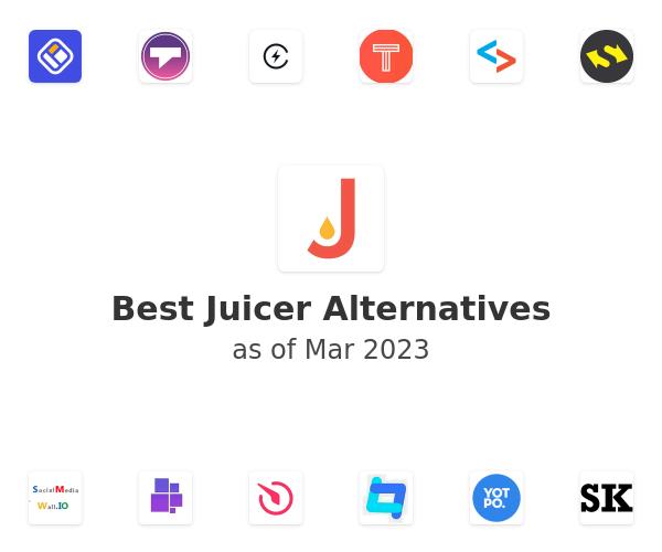 Best Juicer Alternatives