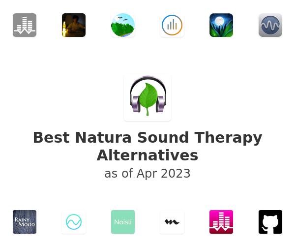 Best Natura Sound Therapy Alternatives