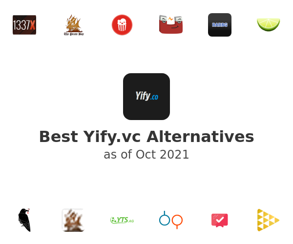 Best Yify.vc Alternatives