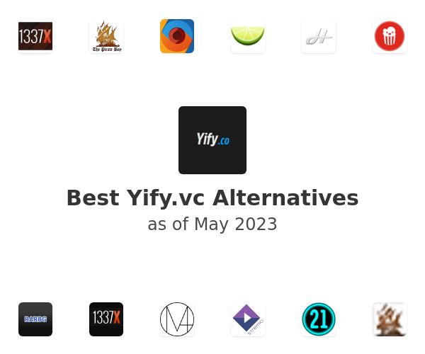 Best Yify.vc Alternatives