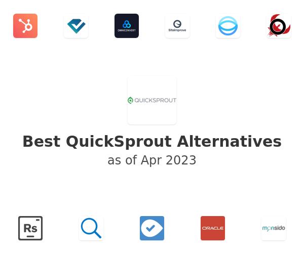 Best QuickSprout Alternatives