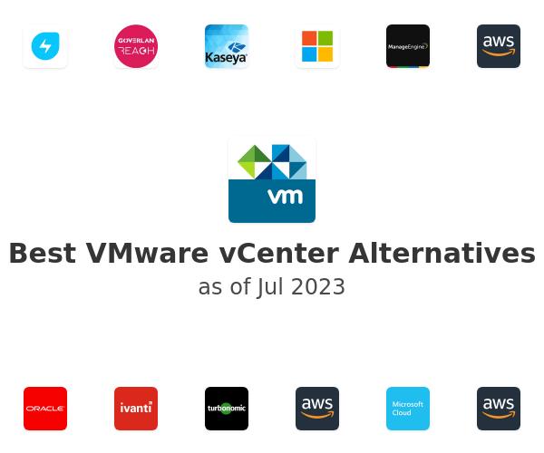 Best VMware vCenter Alternatives