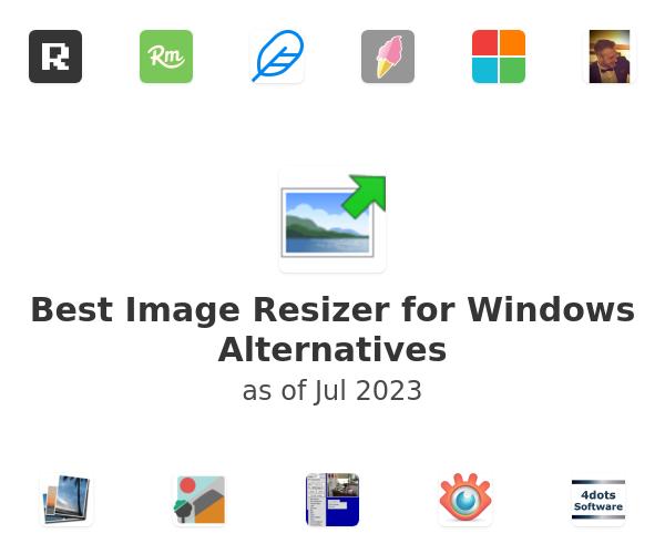 Best Image Resizer for Windows Alternatives