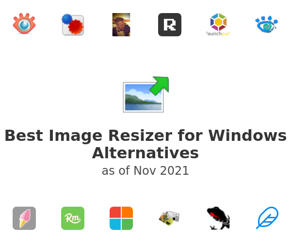 Best Image Resizer for Windows Alternatives