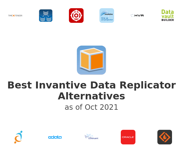 Best Invantive Data Replicator Alternatives