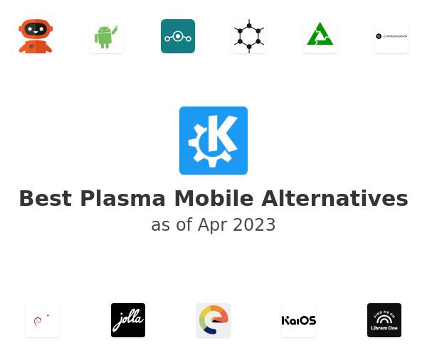 Best Plasma Mobile Alternatives