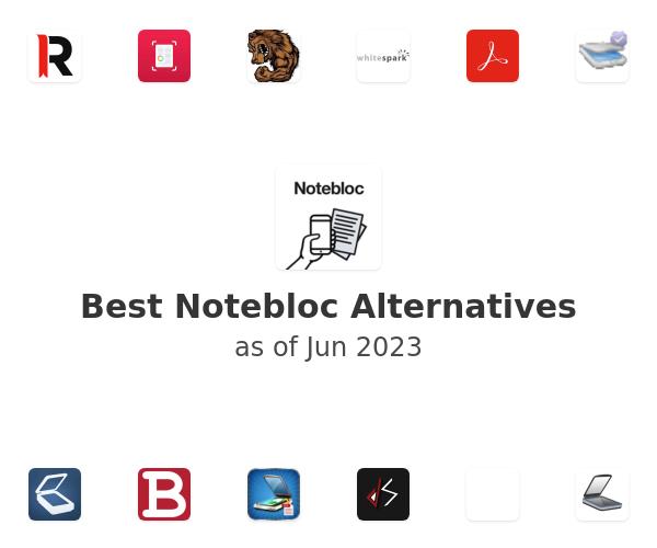 Best Notebloc Alternatives