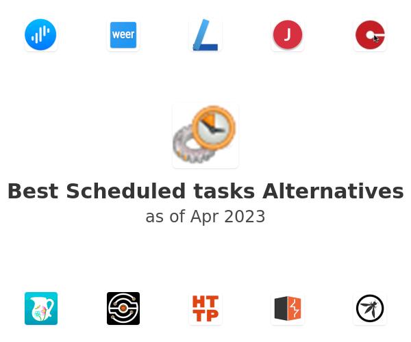 Best Scheduled tasks Alternatives