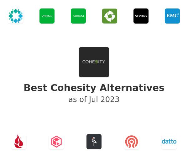 Best Cohesity Alternatives