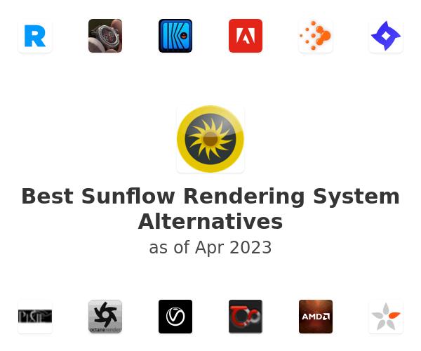Best Sunflow Rendering System Alternatives