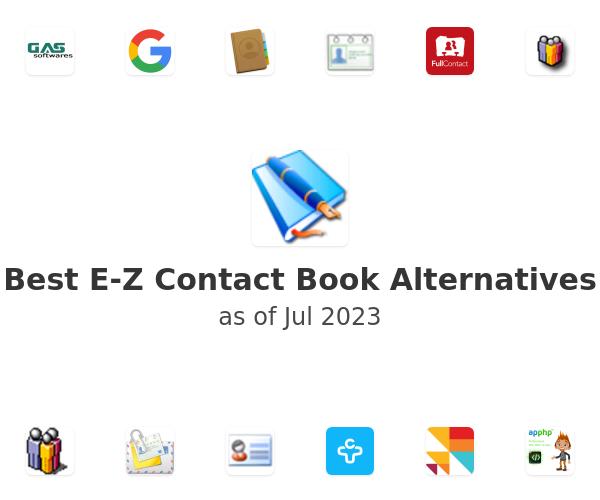 Best E-Z Contact Book Alternatives