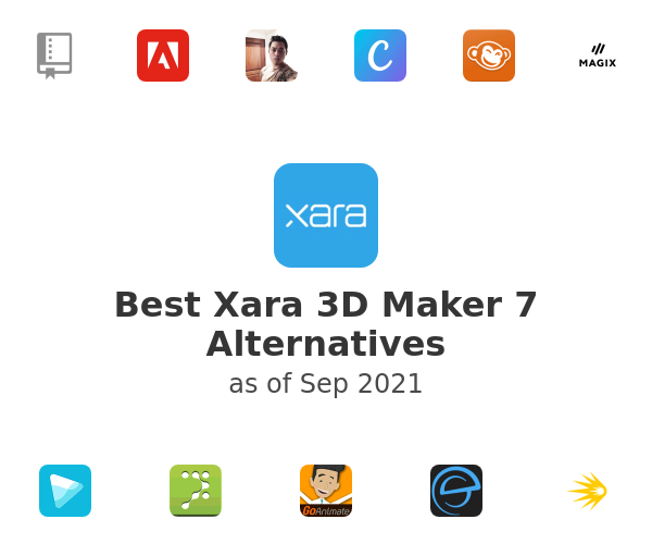 Best Xara 3D Maker 7 Alternatives