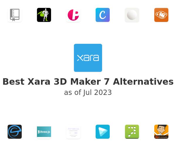 Best Xara 3D Maker 7 Alternatives