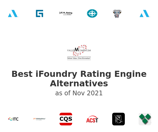 Best iFoundry Rating Engine Alternatives