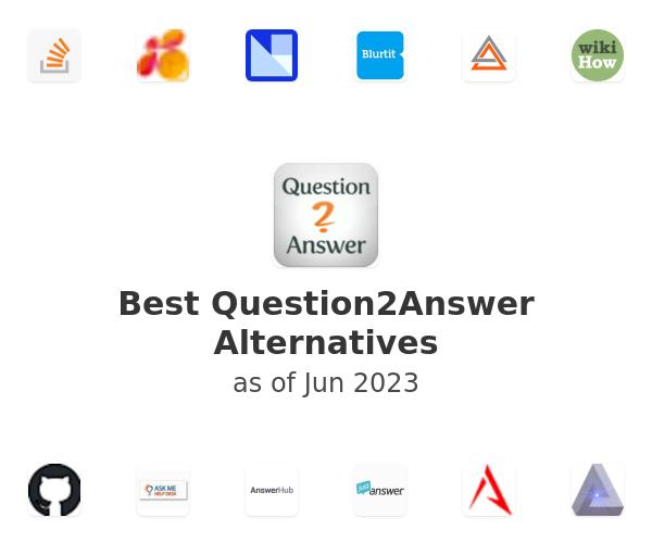 Best Question2Answer Alternatives
