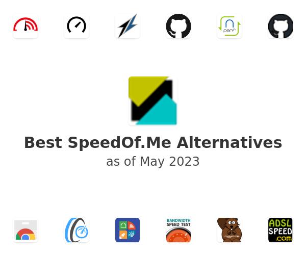 Best SpeedOf.Me Alternatives