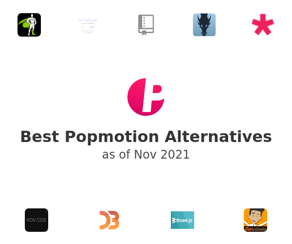 Best Popmotion Alternatives