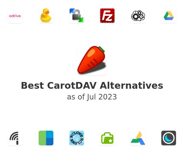 Best CarotDAV Alternatives