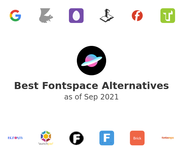 Best Fontspace Alternatives