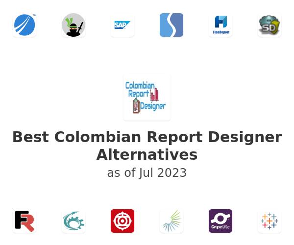 Best Colombian Report Designer Alternatives