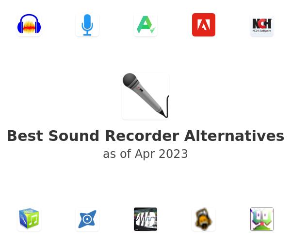 Best Sound Recorder Alternatives