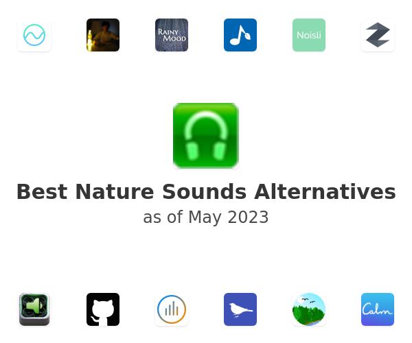 Best Nature Sounds Alternatives