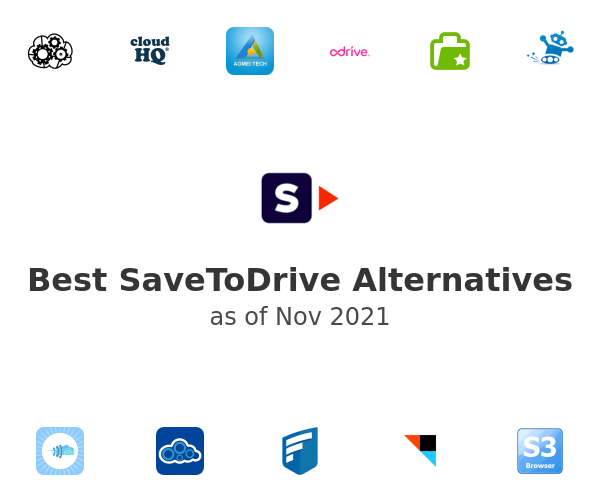 Best SaveToDrive Alternatives