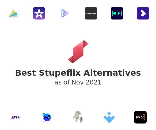 Best Stupeflix Alternatives