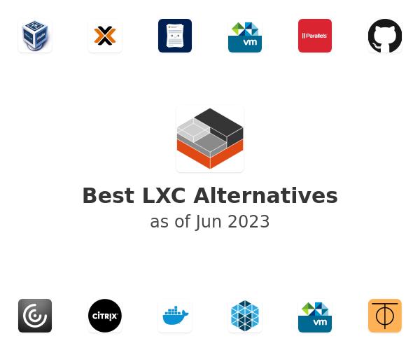 Best LXC Alternatives