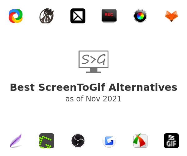Best ScreenToGif Alternatives