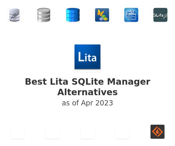 Best Lita SQLite Manager Alternatives
