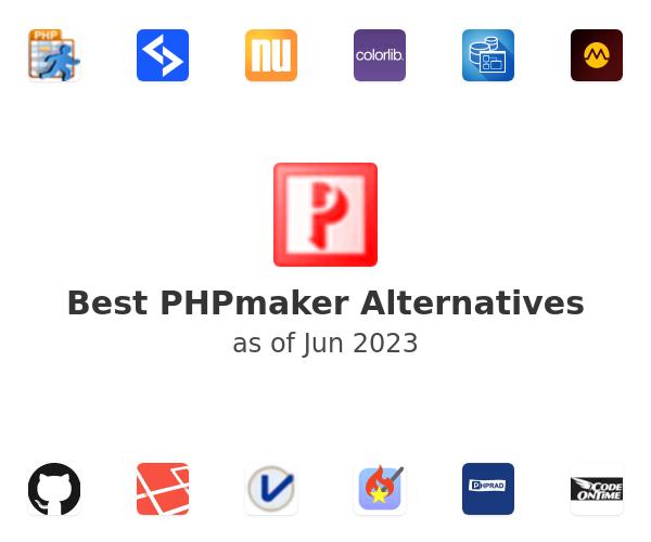 Best PHPmaker Alternatives