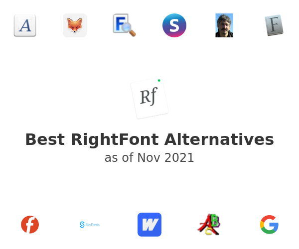 Best RightFont Alternatives