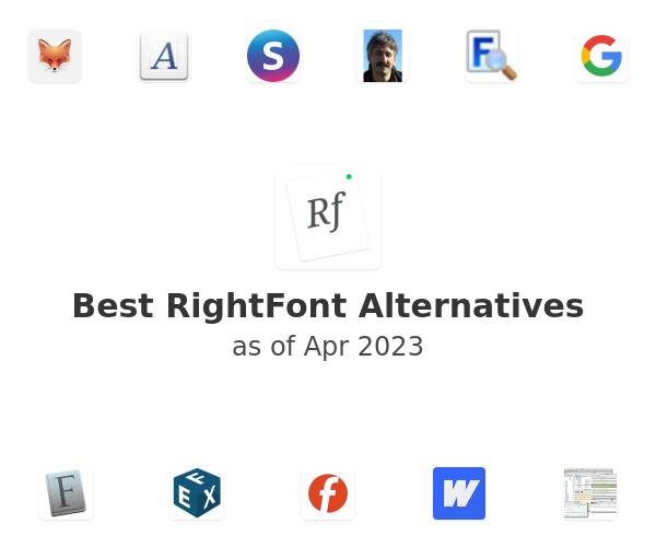 Best RightFont Alternatives