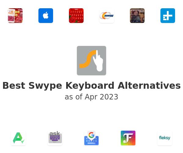 Best Swype Keyboard Alternatives