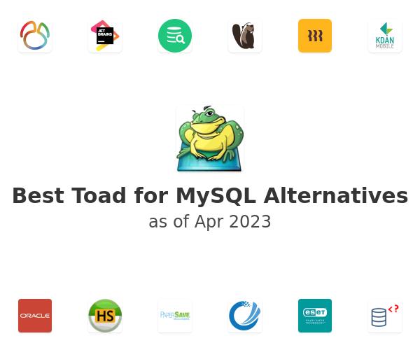 Best Toad for MySQL Alternatives