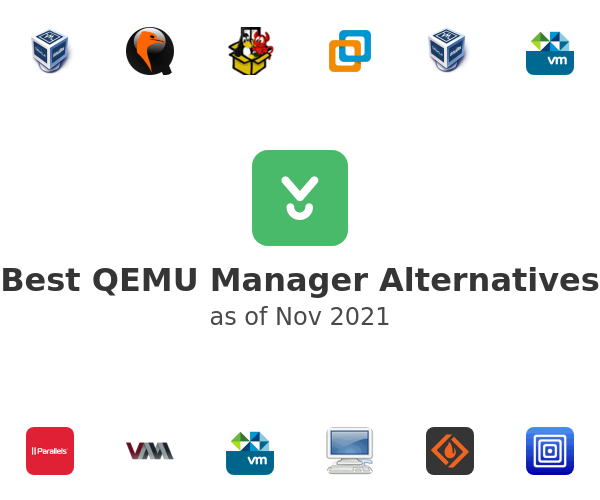 Best QEMU Manager Alternatives