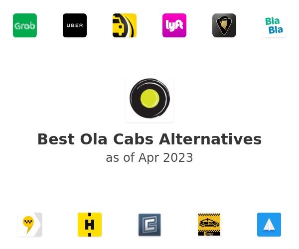 Best Ola Cabs Alternatives