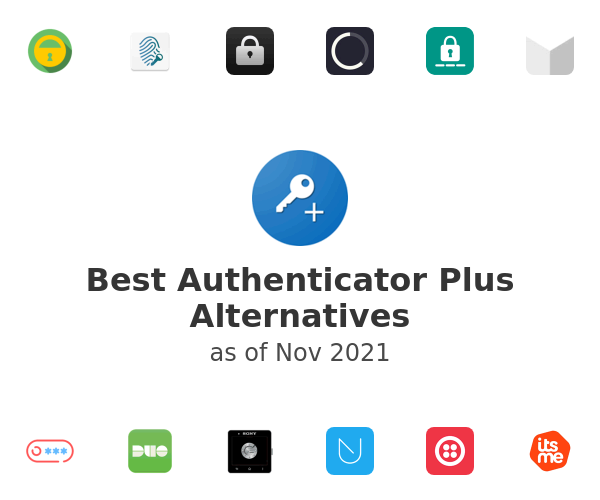 Best Authenticator Plus Alternatives